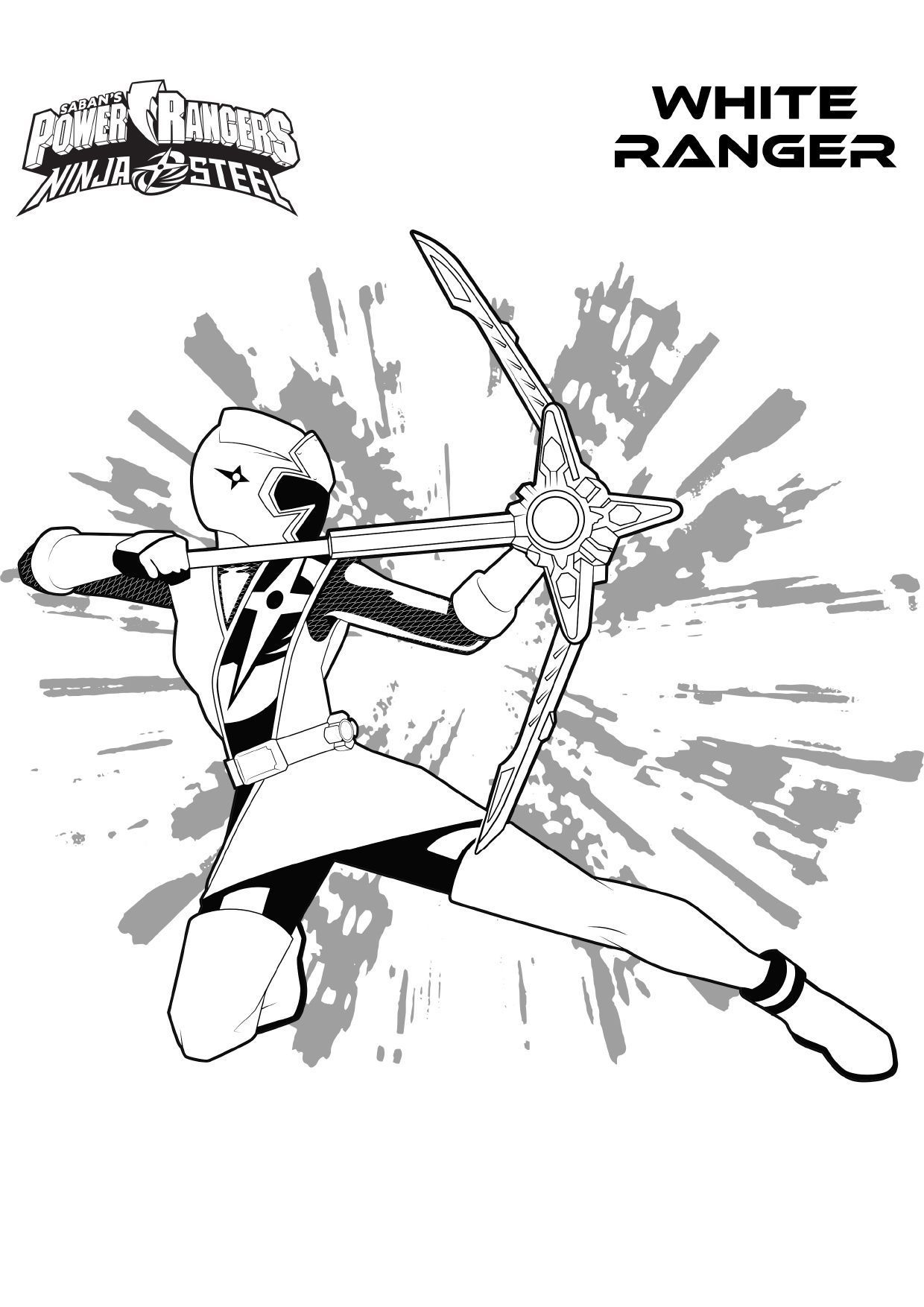 Coloriage Hayley - Coloriage Power Rangers Ninja Steel tout Coloriage Power Rangers Ninja Steel A Imprimer
