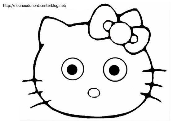 Coloriage Hello Kitty A Imprimer dedans Dessin Hello Kitty À Imprimer