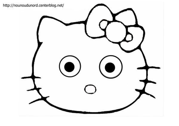 Coloriage Hello Kitty A Imprimer tout Dessin À Imprimer Hello Kitty