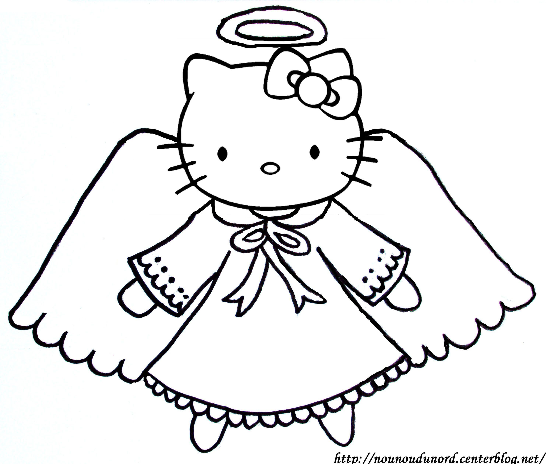 Coloriage Hello Kitty A Imprimer tout Dessin Hello Kitty À Imprimer