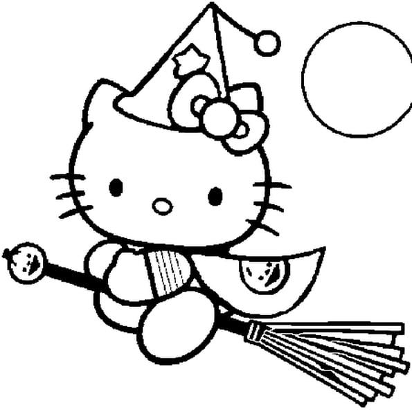 Coloriage Hello Kitty Fée En Ligne Gratuit À Imprimer dedans Coloriage A Imprimer Hello Kitty