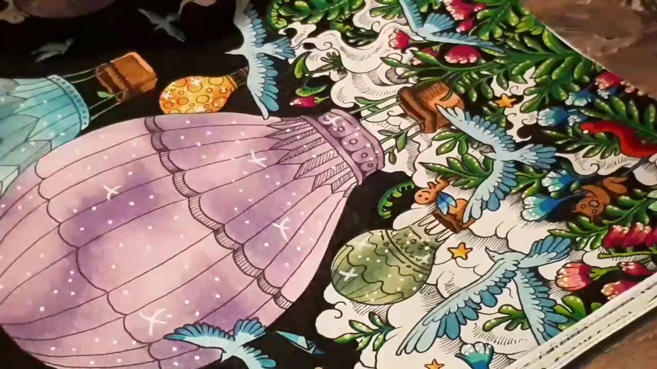 Coloriage Imagimorphia Marabout: Les Montgolfières destiné Marabout Coloriage