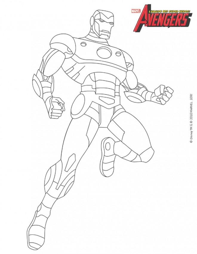 Coloriage Iron Man À Colorier Dessin Gratuit À Imprimer concernant Coloriage Iron Man À Imprimer