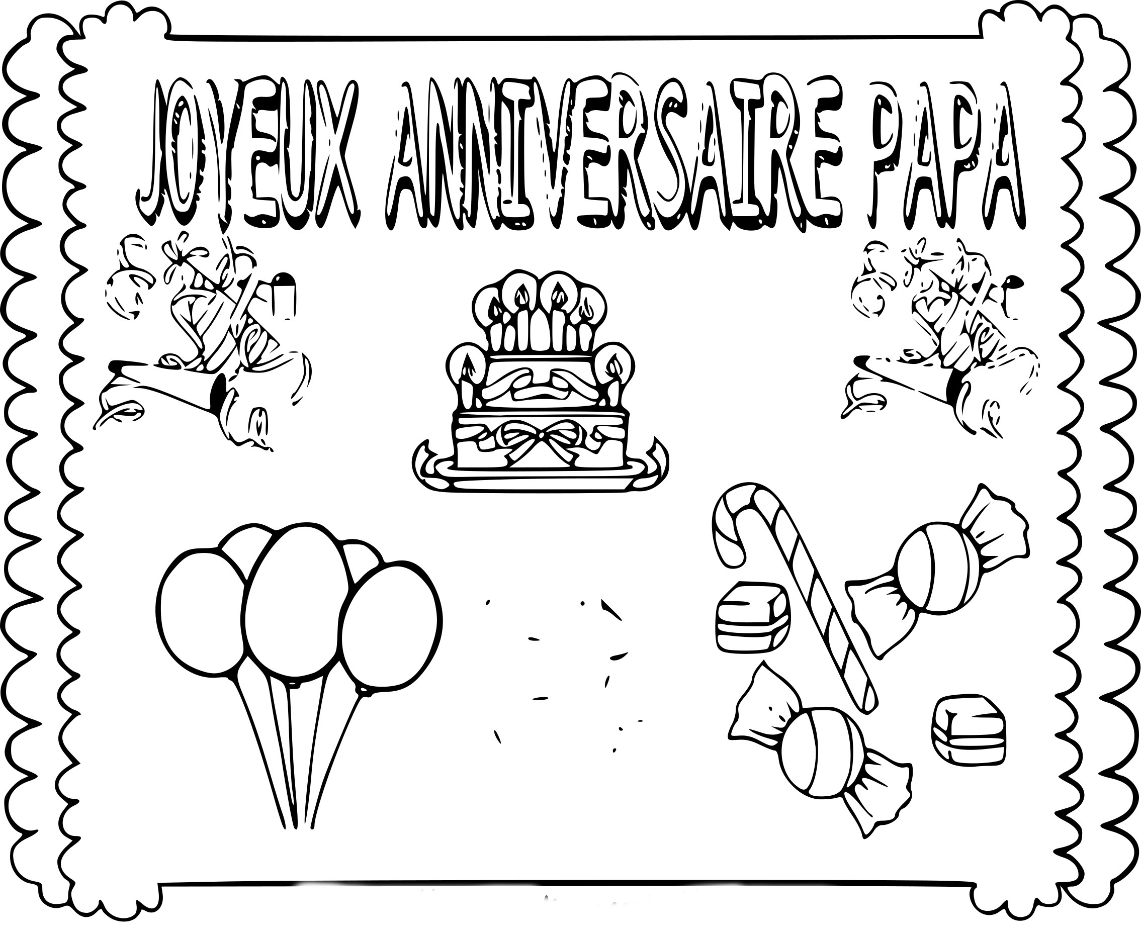 Coloriage Joyeux Anniversaire Papa À Imprimer Sur concernant Mandala Fete Des Papa  A Colorier