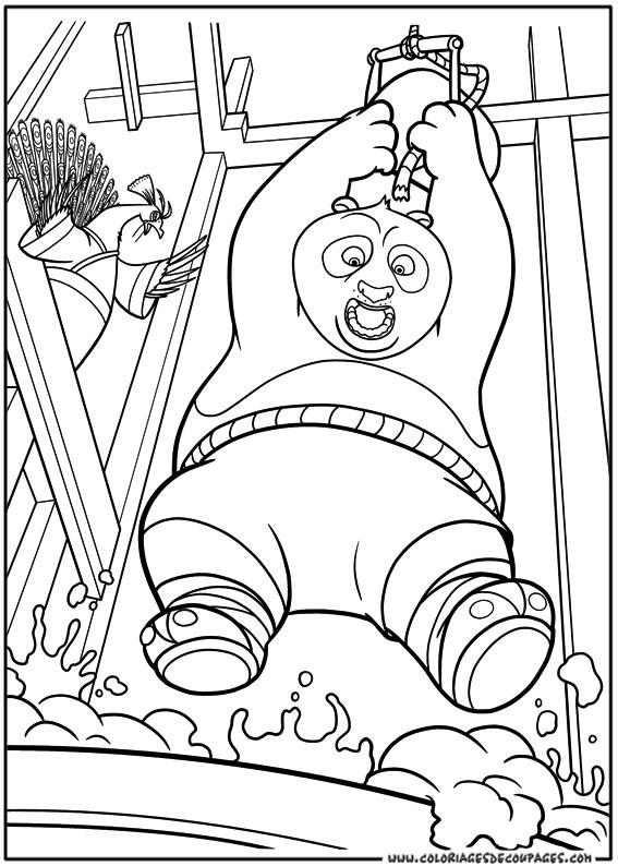 Coloriage Kung Fu Panda Gratuit À Imprimer Liste 20 À 40 à Coloriage Kung Fu Panda A Imprimer Gratuit