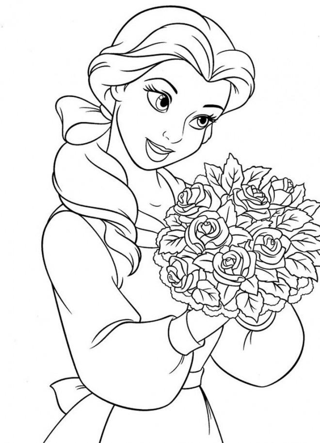 Coloriage La Princesse Et La Grenouille 19 Dessin Gratuit concernant Coloriage A Imprimer Licorne Et Princesse
