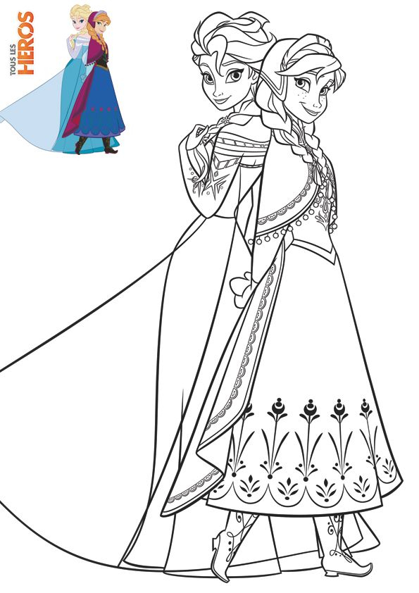 Coloriage La Reine Des Neiges Coloring Frozen | Coloriage tout Coloriage Reine Des Neiges À Imprimer Gratuit