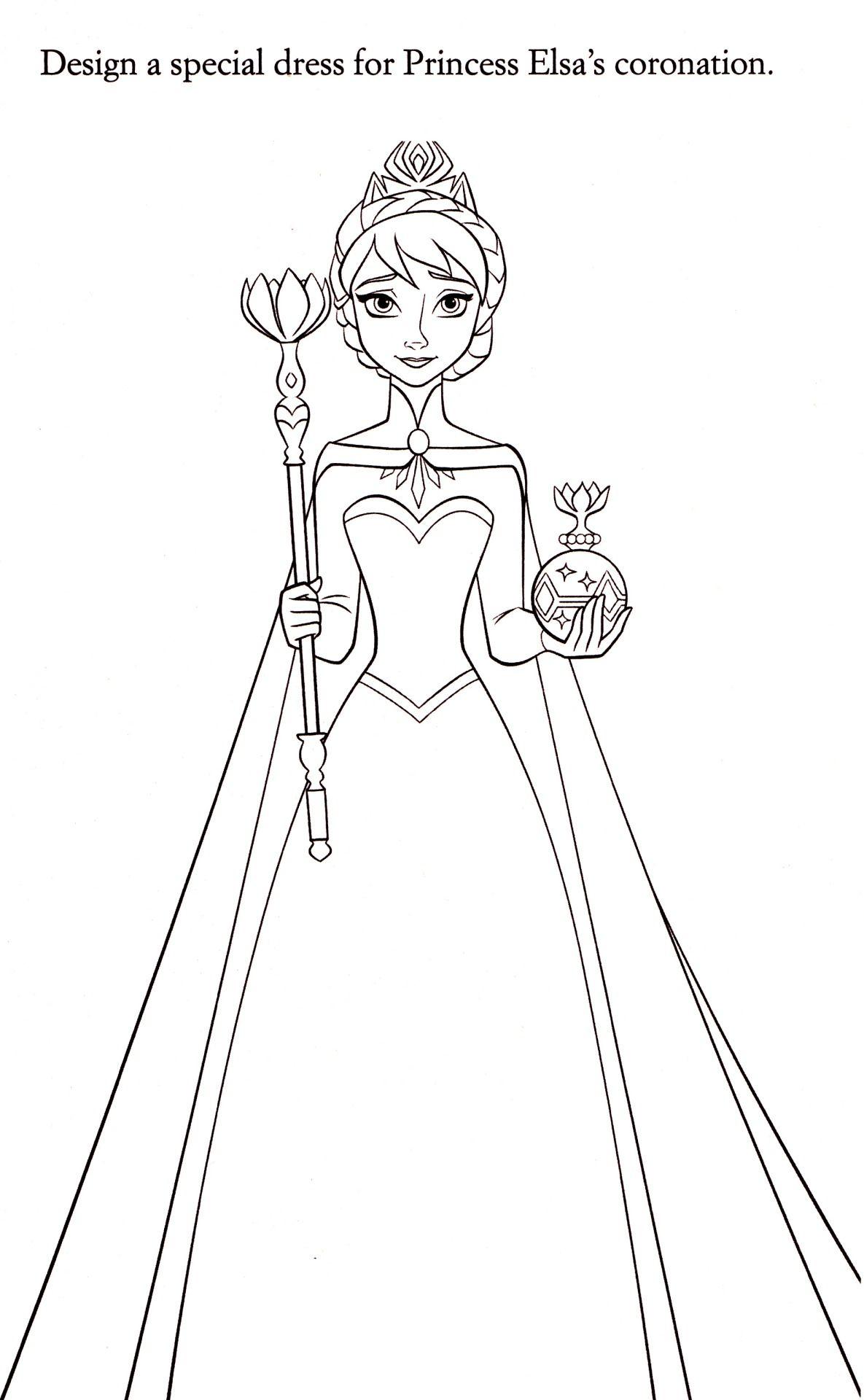 Coloriage La Reine Des Neiges | Elsa Coloring Pages concernant Dessin À Imprimer La Reine Des Neiges
