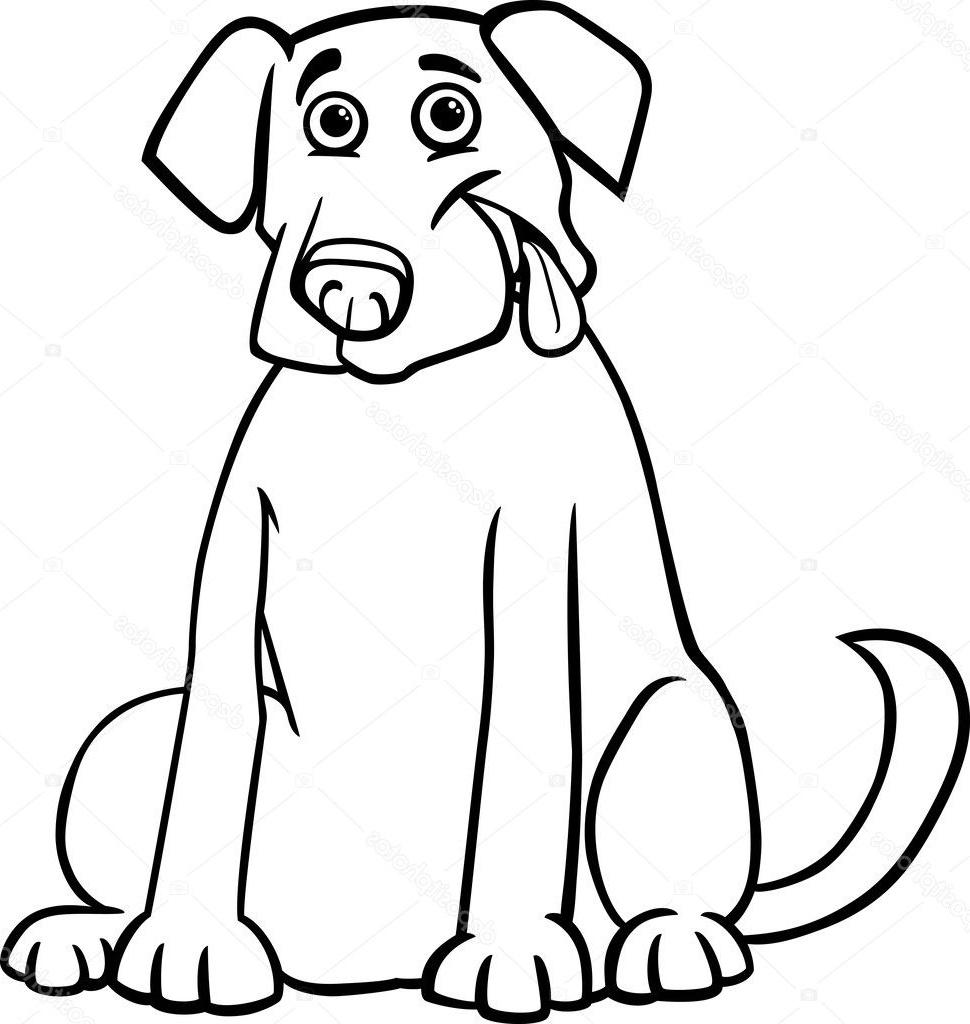 Coloriage Labrador Luxe Photos Coloriage Labrador dedans Coloriage Labrador A Imprimer