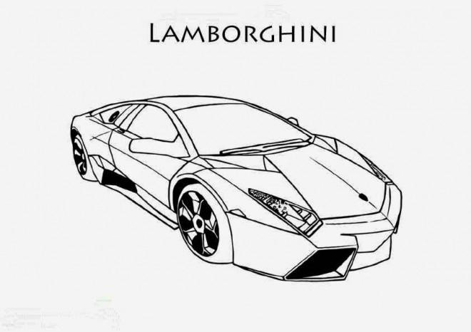 Coloriage Lamborghini Huracan Dessin Gratuit À Imprimer serapportantà Voiture De Course À Colorier