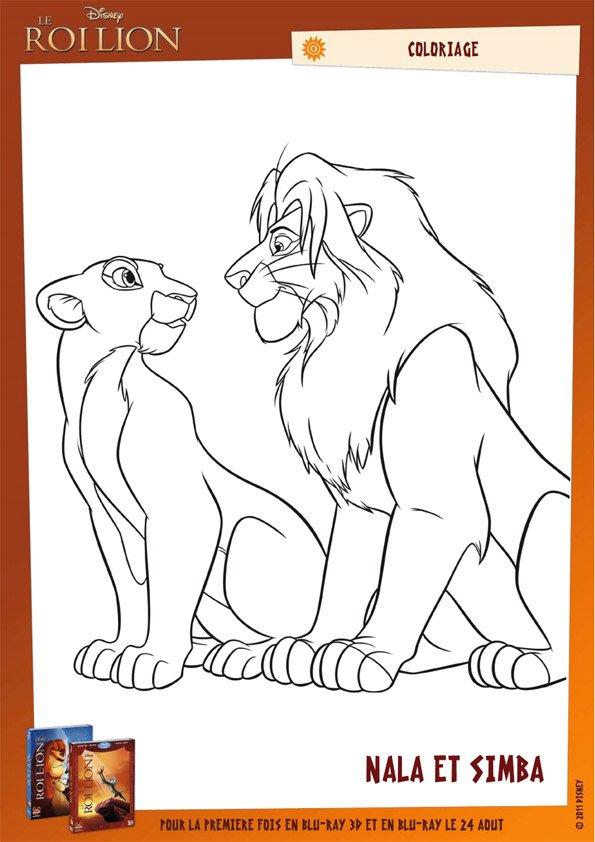 Coloriage Le Roi Lion (30) - Momes à Coloriage Roi Lion À Imprimer
