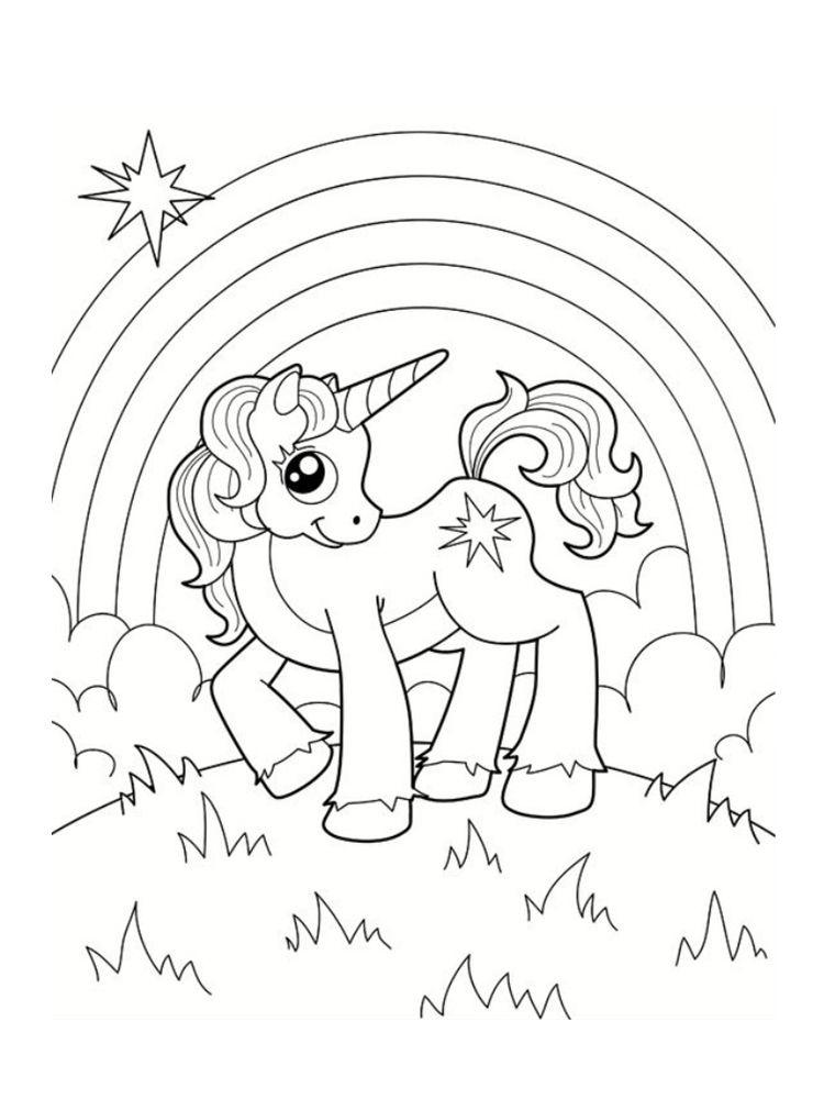 Coloriage Licorne : 20 Modèles À Imprimer Gratuitement à Coloriage Zebre A Imprimer Gratuit