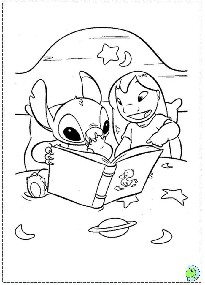 Coloriage Lilo Et Stitch (Avec Images) | Coloriage Disney encequiconcerne Coloriage A Imprimer Disney Stitch