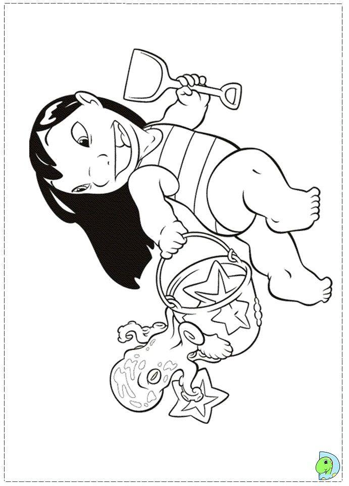 Coloriage Lilo Et Stitch | Disney Coloring Pages, Cool avec Coloriage A Imprimer Disney Stitch