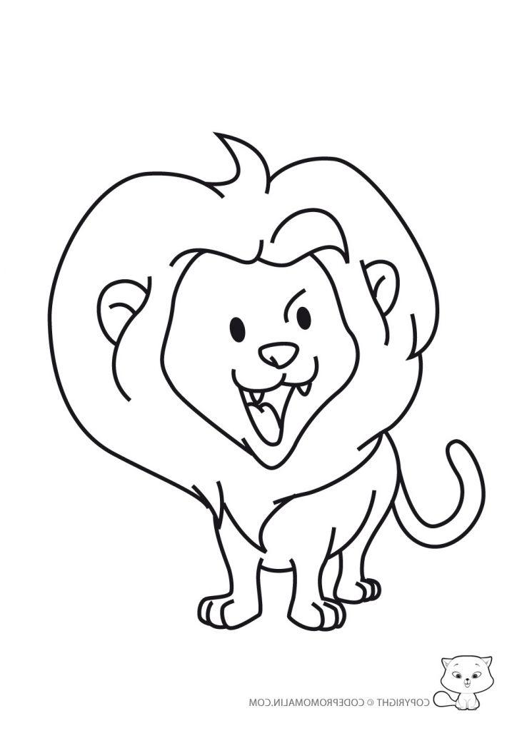 Coloriage Lionceau Luxe Galerie Coloriage Lion Et Rat dedans Lionceau Dessin