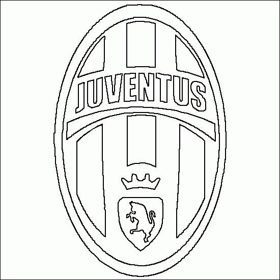 Coloriage Logo Juve Italien Dessin Gratuit À Imprimer tout Coloriage Equipe De Foot