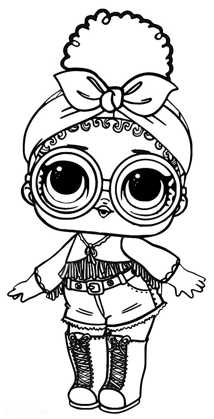 Coloriage Lol Surprise Épinglé Sur Lol Pinterest Unique Of à Coloriage Poupee Lol