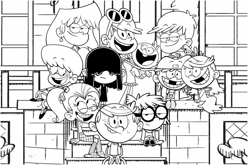 Coloriage Loud Élégant Image Result For The Loud House serapportantà Coloriage Bienvenue Chez Les Loud
