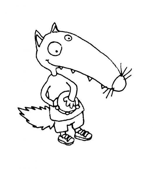 Coloriage Loup Maternelle - Ohbq dedans Coloriage Loup Maternelle