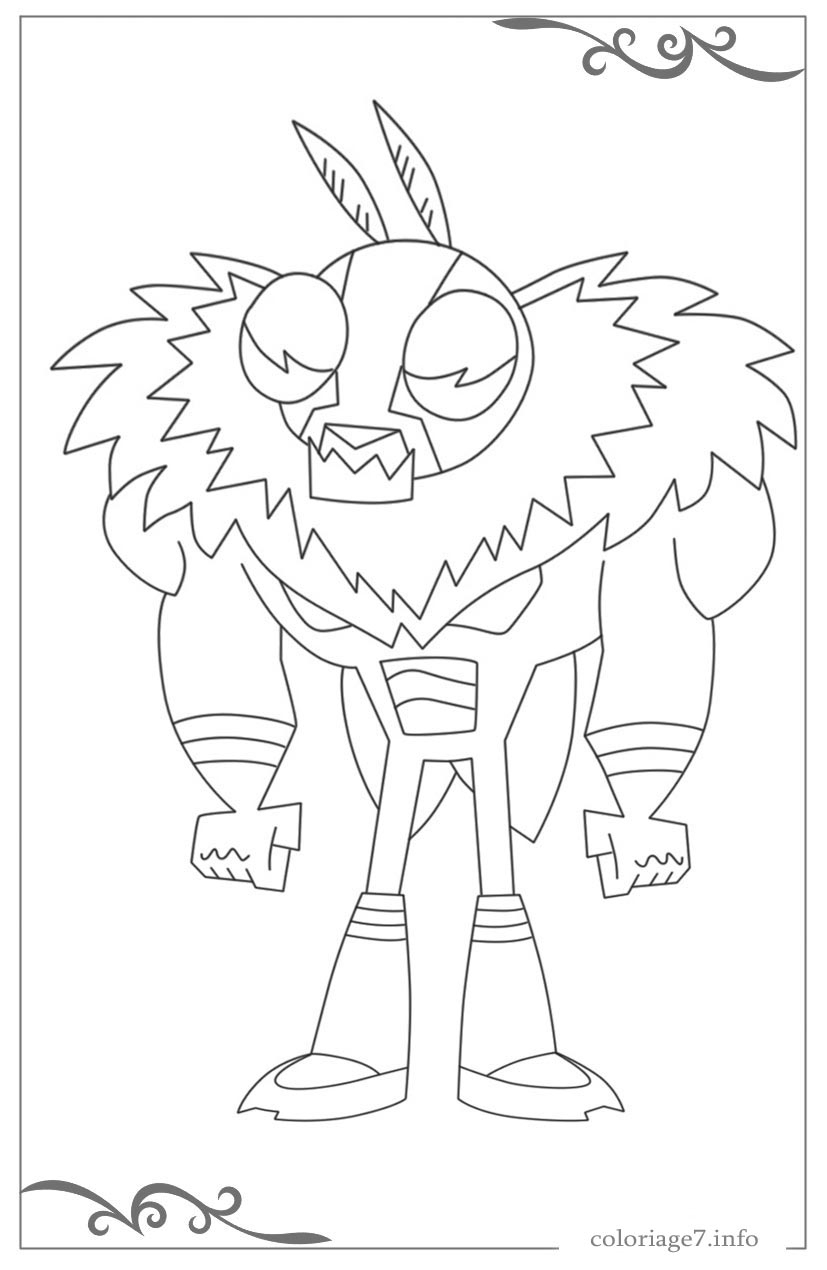 Coloriage Magique A Imprimer Teen Titan - Ohbq pour Coloriage Siborge ? Imprimer