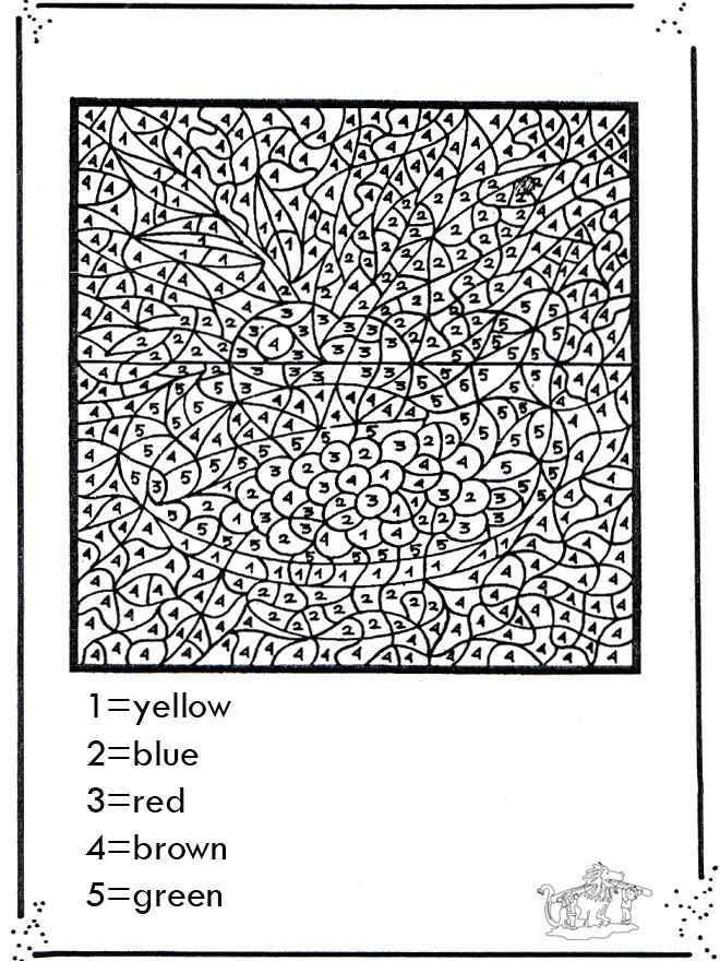 Coloriage Magique Chiffres Pour Adulte Dessin Gratuit À pour Coloriage Par Numéro Adulte À Imprimer