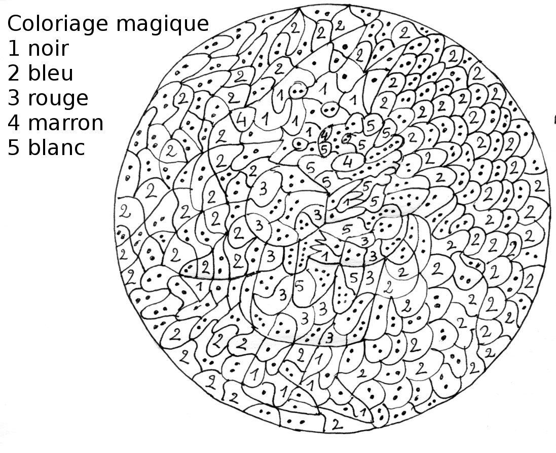 Coloriage Magique Difficile À Imprimer Gratuit tout Coloriage En Ligne Difficile