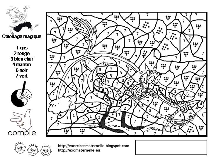 Coloriage Magique Grande Section Lettres | Liberate avec Coloriage Gs