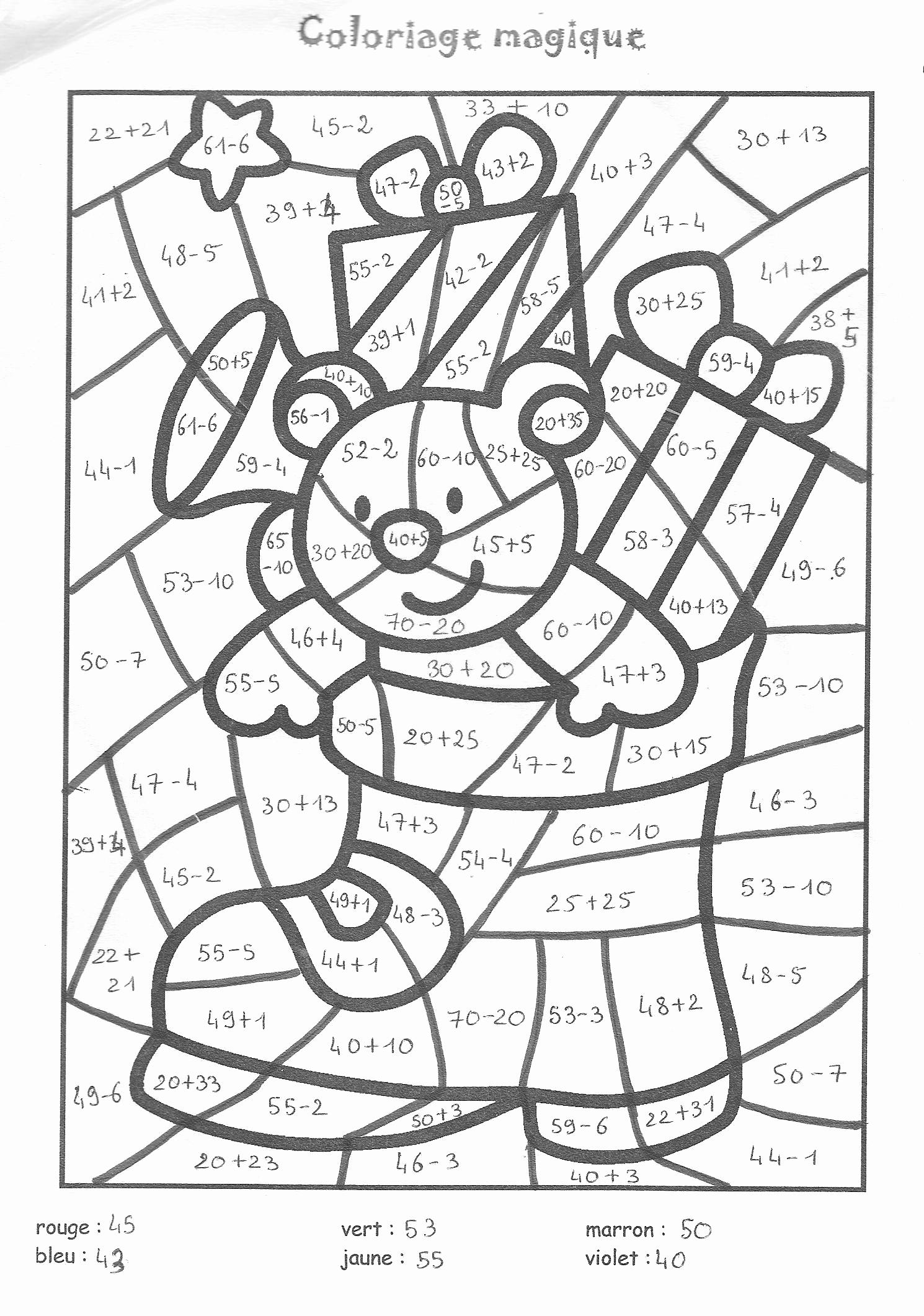 Coloriage Magique Grande Section Maternelle A Imprimer avec Coloriage Moyenne Section À Imprimer