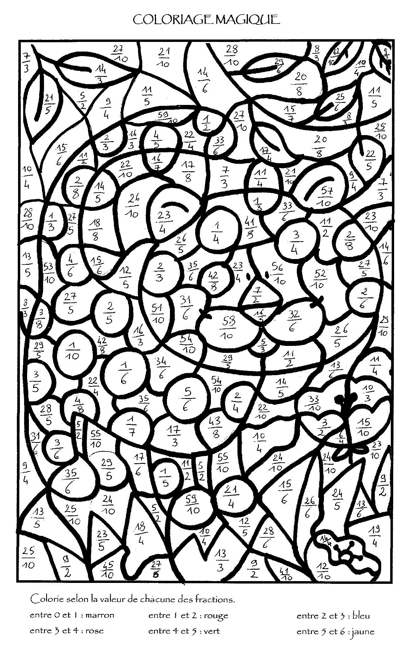 Coloriage Magique Paques Multiplication encequiconcerne Coloriage Magique Paques Imprimer