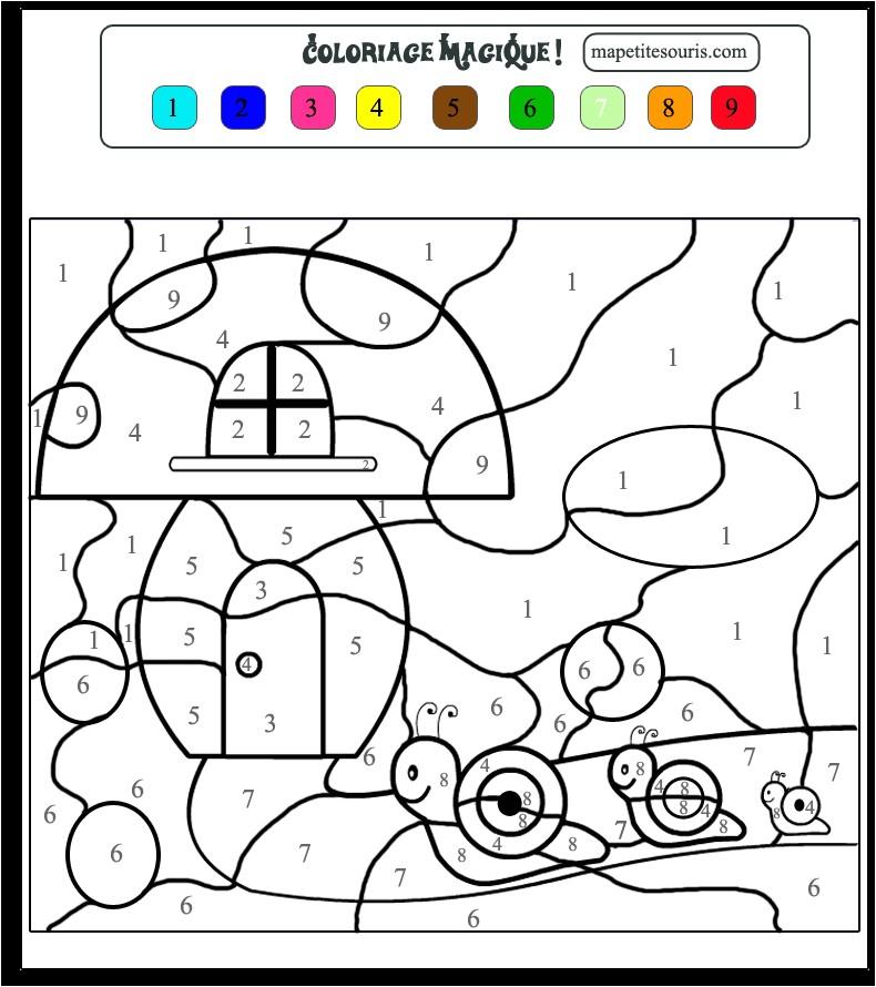 Coloriage Magique Pour Petite Section | Danieguto serapportantà Coloriage Magique Petite Section
