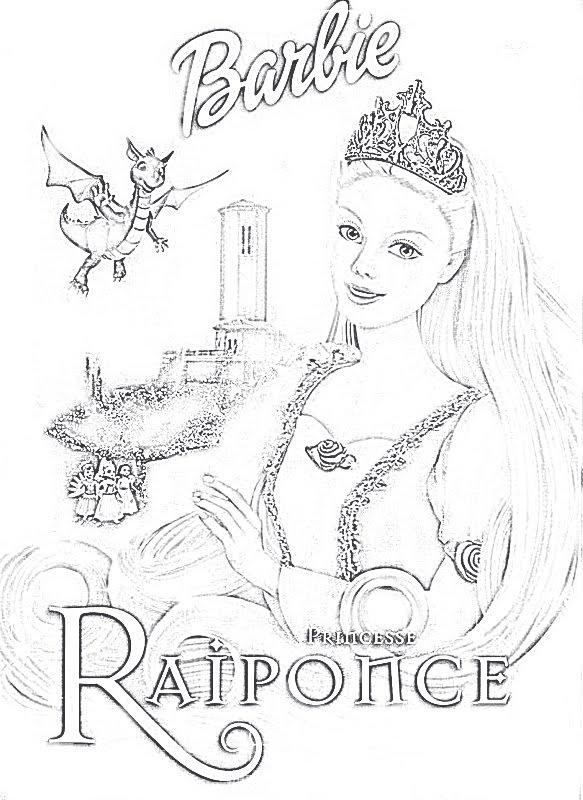 Coloriage Magique Princesse | Liberate pour Dessin Princesse Raiponce