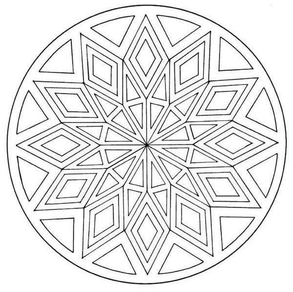 Coloriage Mandala A Imprimer intérieur Coloriage Mandale