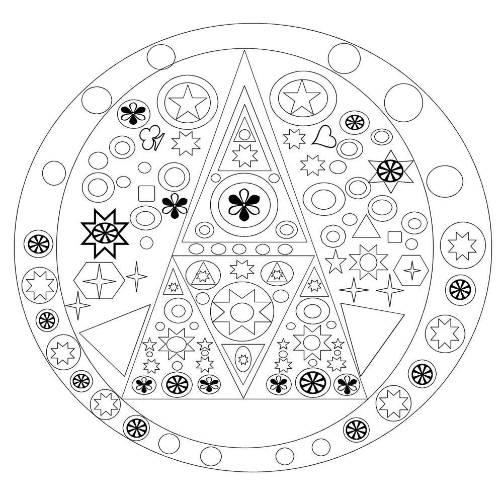 Coloriage Mandala A Imprimer tout Coloriage A Imprimer Gratuit