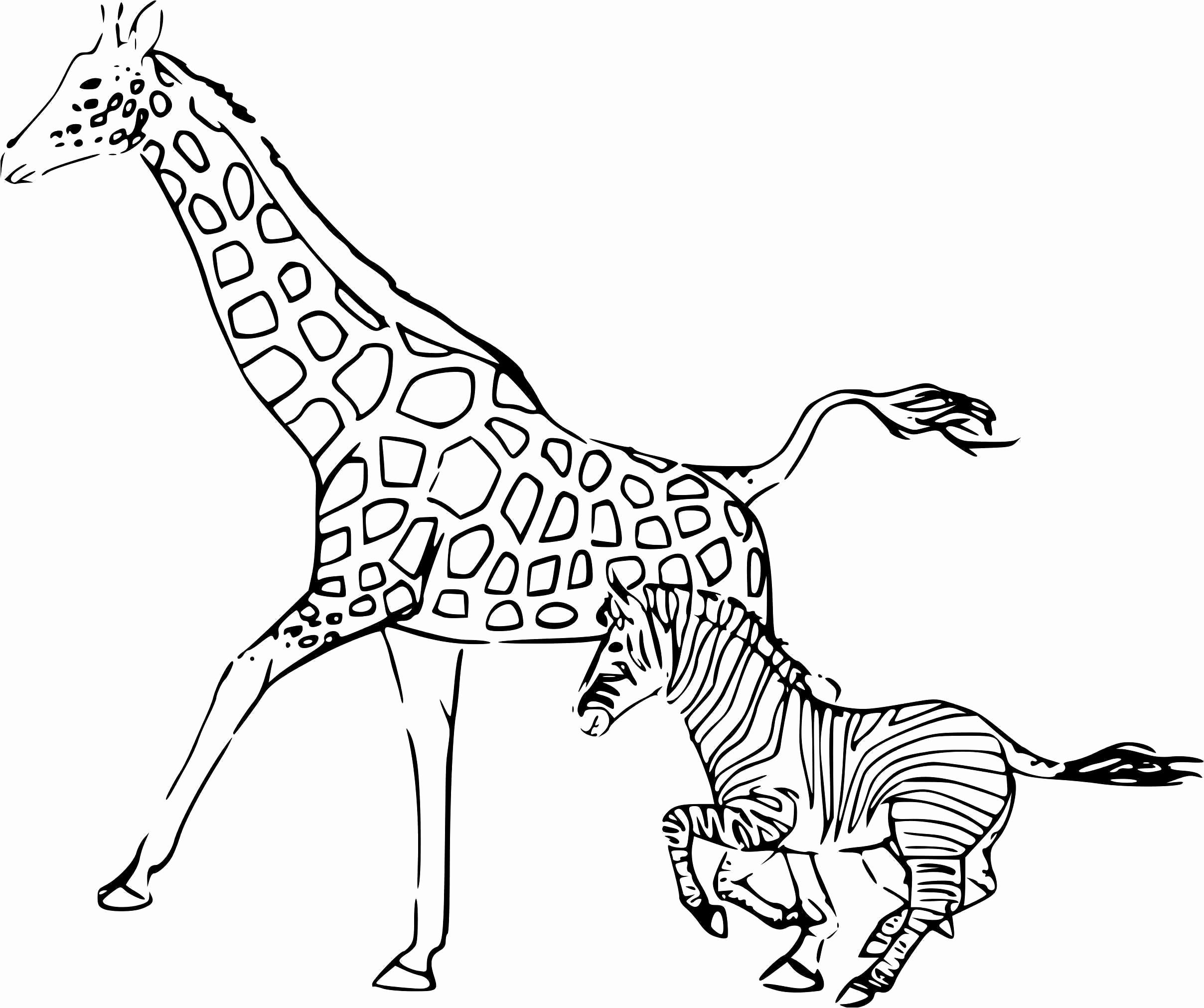 Coloriage Mandala Animaux Génial Luxury Coloriage Mandala avec Coloriage Girafe A Imprimer Gratuit