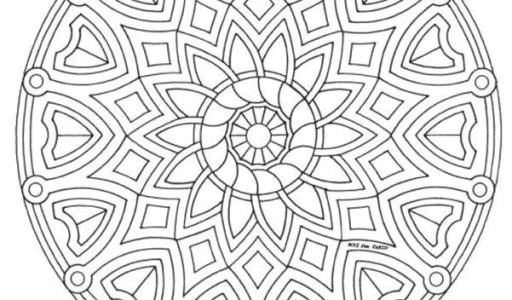 Coloriage Mandala Cm2 Coloriage Mandala Cm2 - Danieguto avec Mandala Cm2