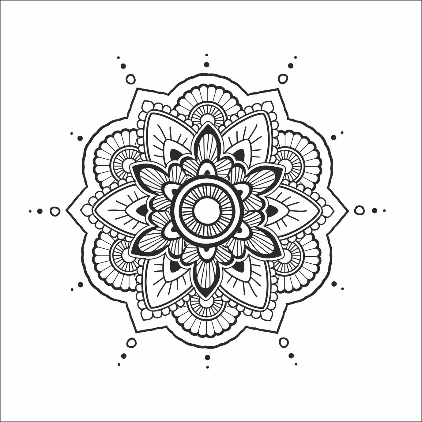 Coloriage Mandala Difficile En Ligne tout Coloriage En Ligne Difficile