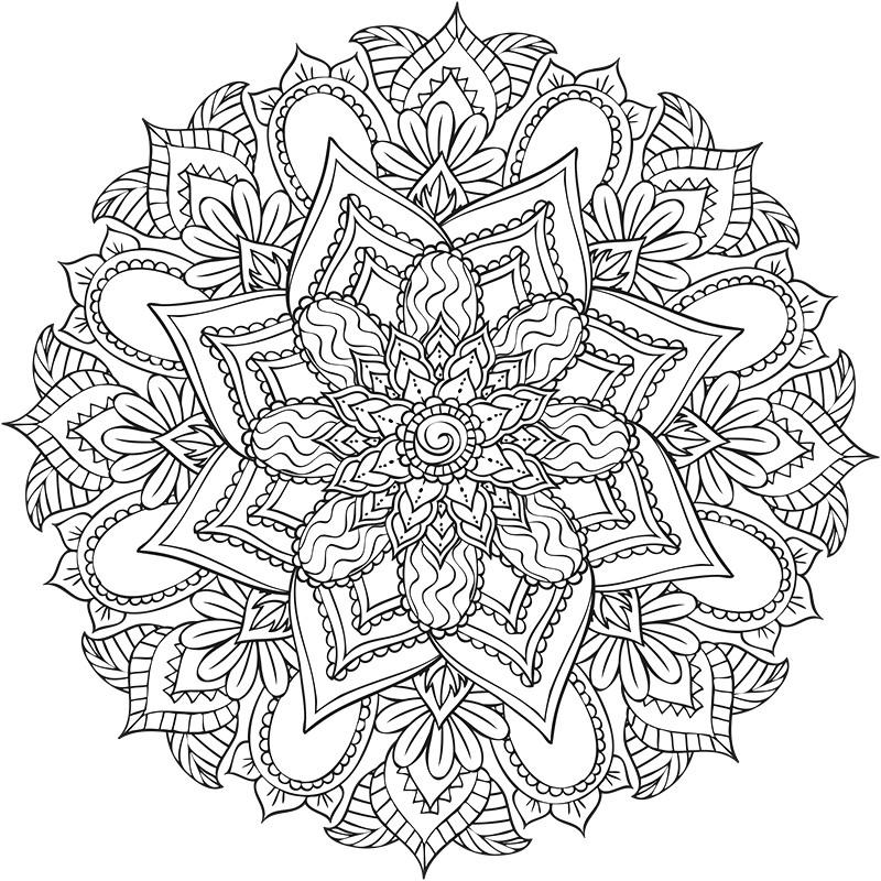 Coloriage Mandala Disney Imprimer Avec Disney Le Bestiaire tout Coloriage Mandala A Imprimer