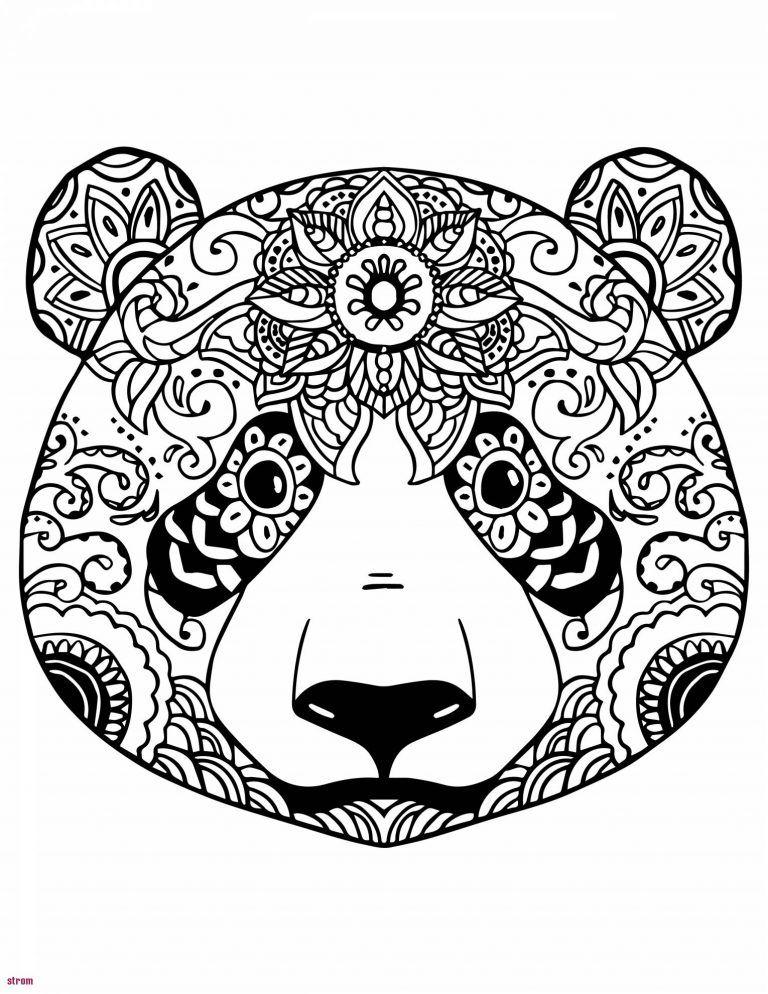 Coloriage Mandala Imprimer Gratuit Excellent Portrait intérieur Mandala Animaux À Imprimer Gratuit