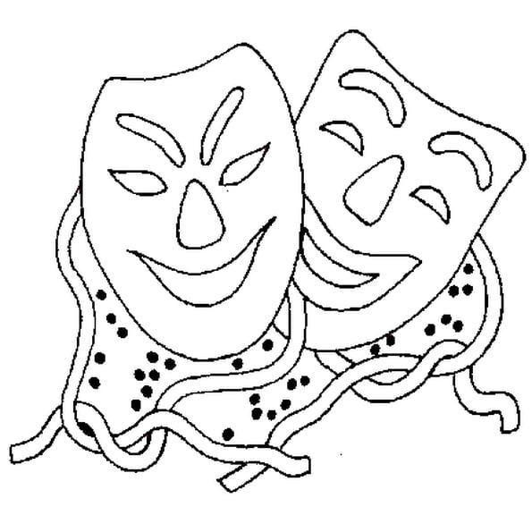Coloriage Masque De Carnaval En Ligne Gratuit À Imprimer tout Masque À Colorier Gratuit