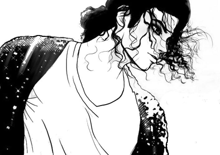 Coloriage Michael Jackson 10 serapportantà Coloriage De Michael Jackson