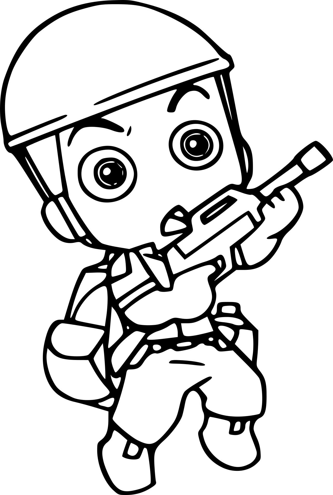 Coloriage Militaire | My Blog concernant Coloriage Soldat