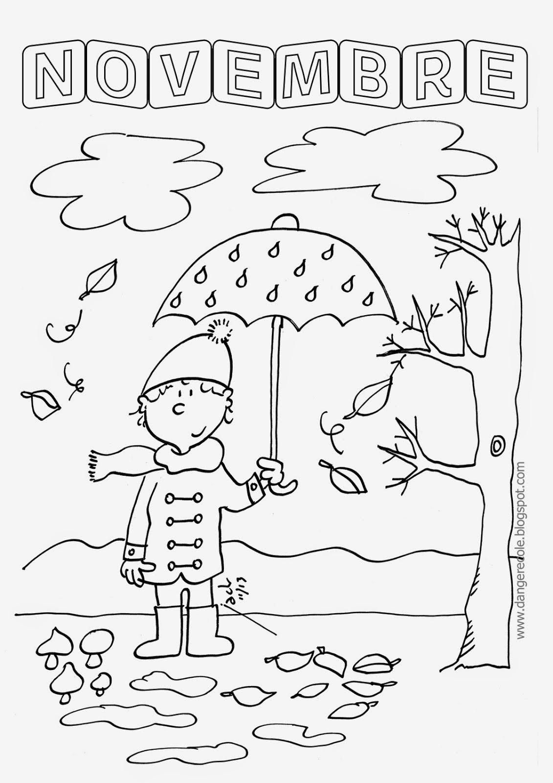 Coloriage Mois Maternelle   My Blog à Coloriage Maternelle