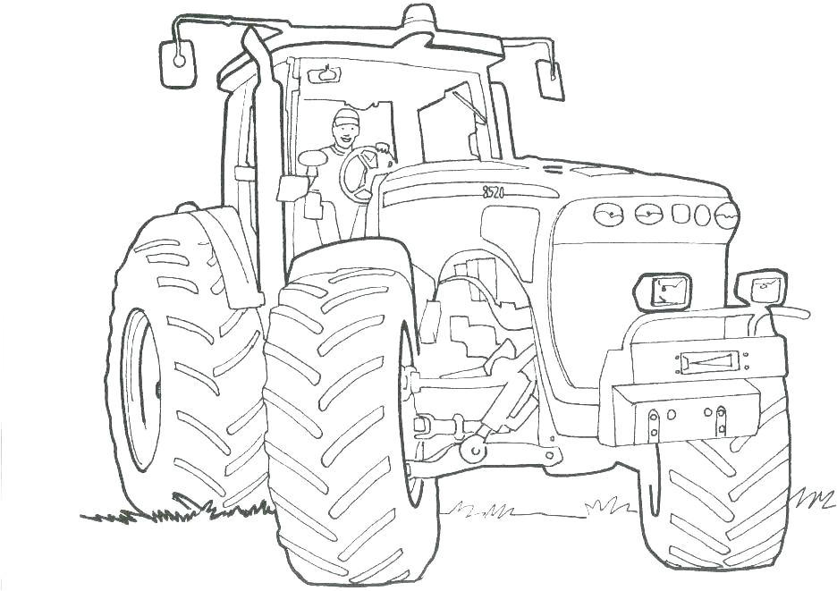 Coloriage Moissonneuse Tracteur Tom Coloriage De Tracteur à Dessin Tracteur Tom