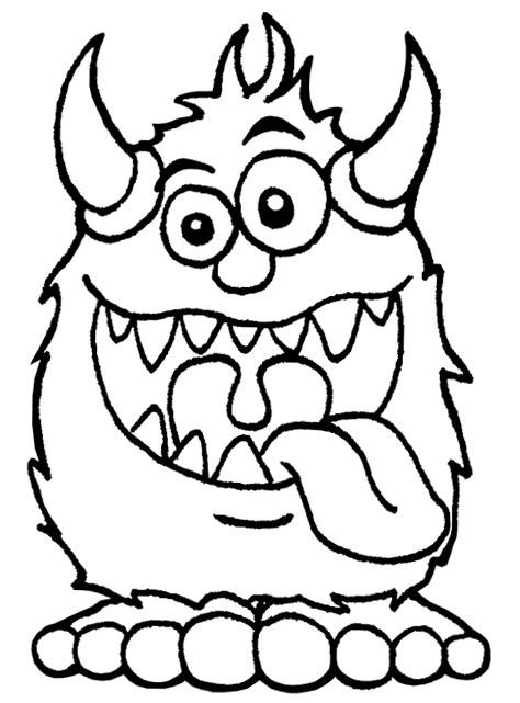 Coloriage Monstre Humoristique Dessin Gratuit À Imprimer intérieur Coloriage Monstre Et Compagnie