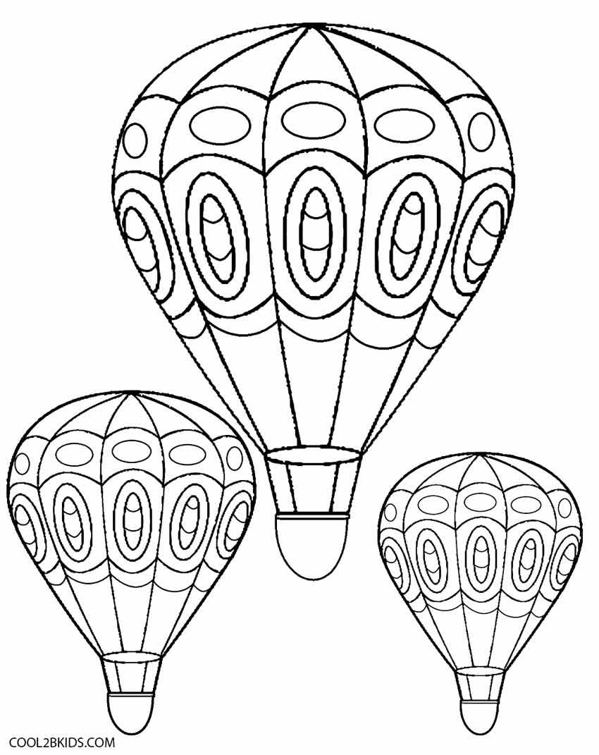 Coloriage Montgolfiere À Imprimer Pour Les Enfants - Cp18616 avec Dessin De Montgolfière