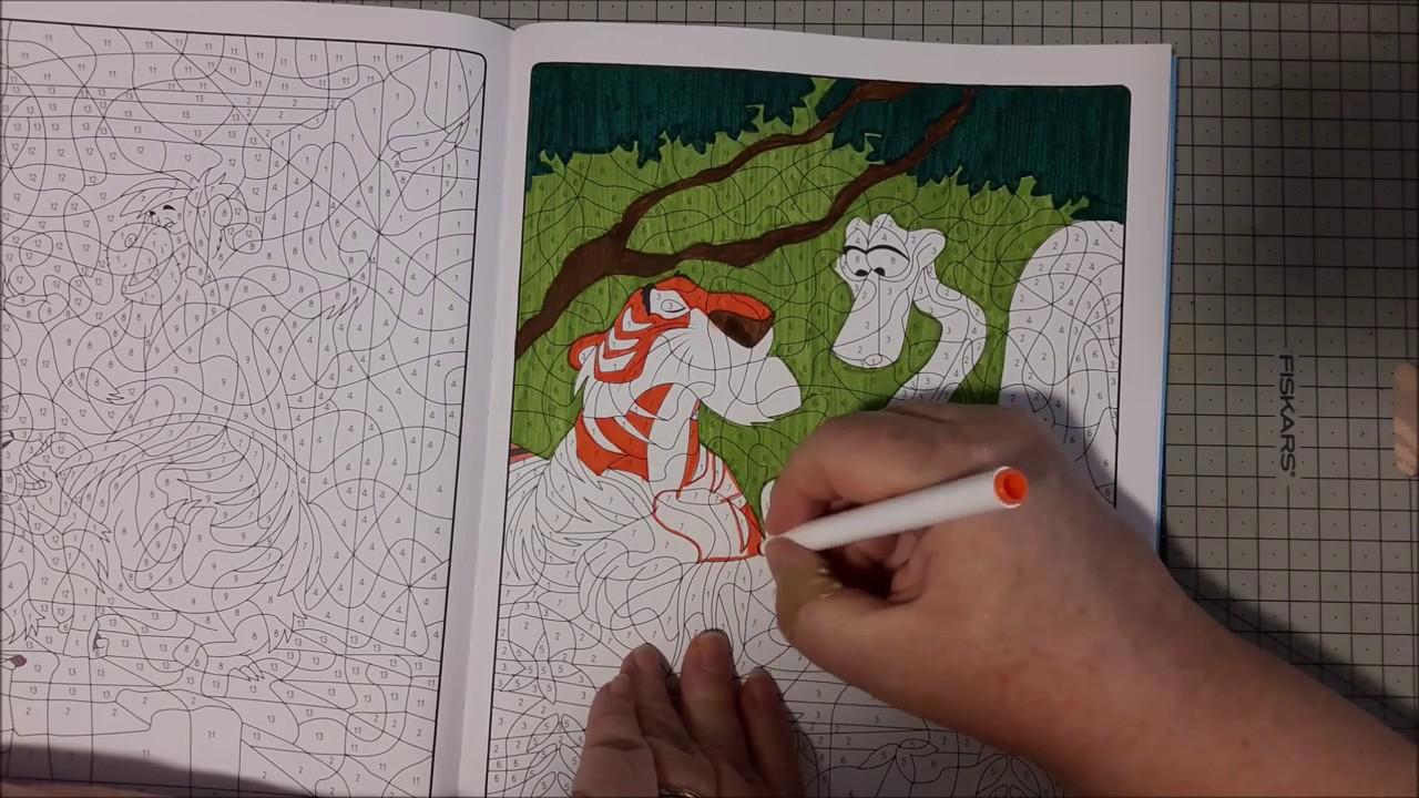 Coloriage Mystère Disney 40 - avec Feutre Coloriage Mystere