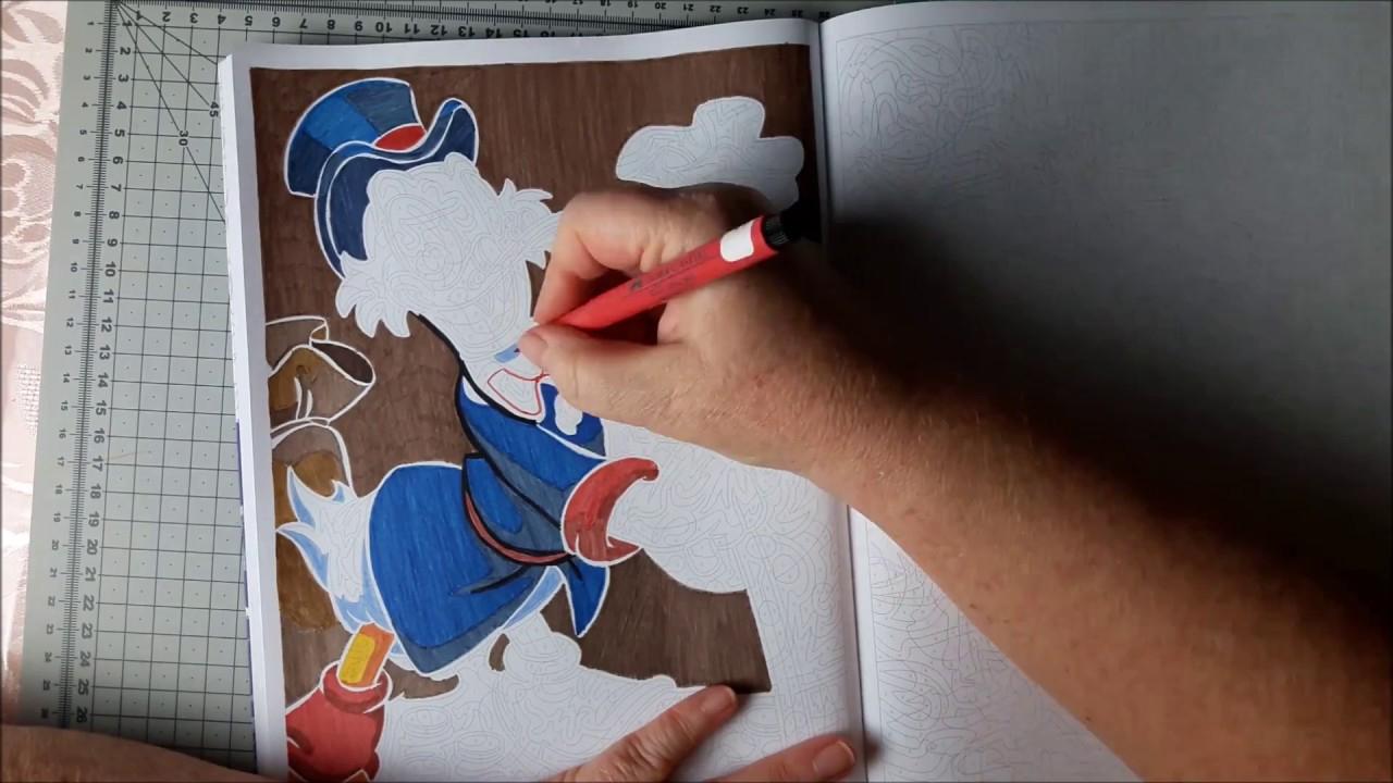 Coloriage Mystère Disney, Speed Coloring 15 - encequiconcerne Feutre Coloriage Mystere
