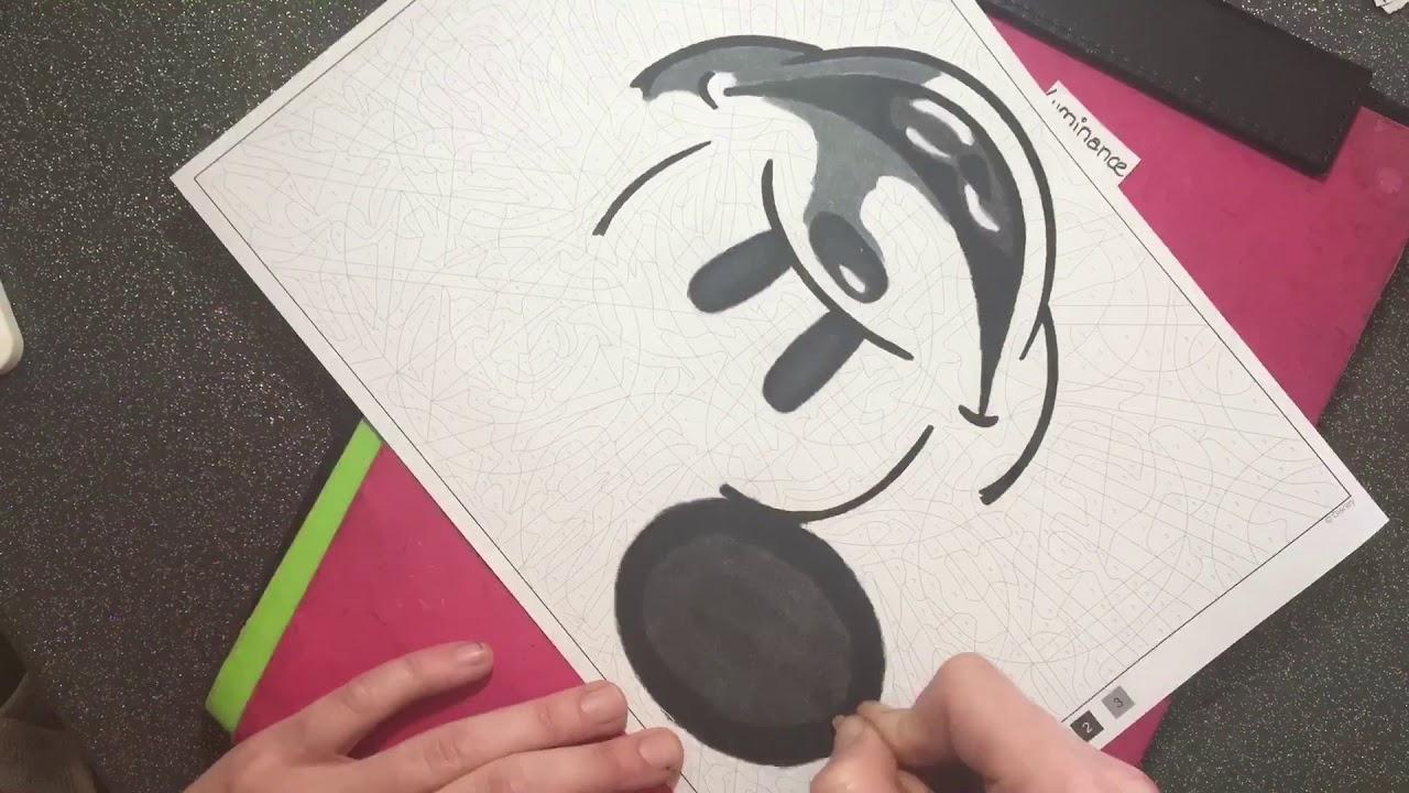 Coloriage Mystère Mickey,Donald & Co - destiné Coloriage Mystère