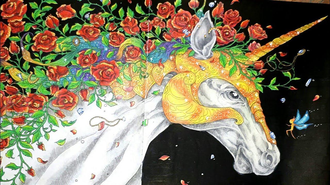 Coloriage Mythomorphia Marabout: La Licorne - Le Final destiné Marabout Coloriage