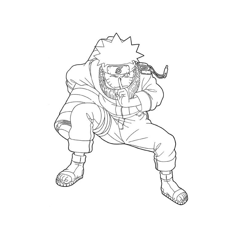 Coloriage Naruto À Imprimer Pour Les Enfants - Cp18974 pour Dessin De Na Ruto A In Primer